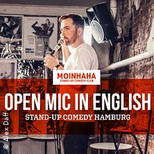 """Open Mic in English"" Stand-Up Comedy"