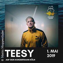 Teesy auf dem Konzertkahn in Köln