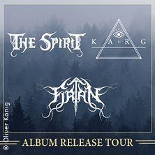 The Spirit, Karg - Album Release Tour