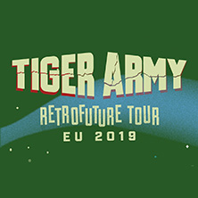 Tiger Army - Retrofuture Tour 2019