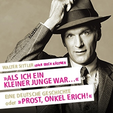Walter Sittler spielt Erich Kästner in Mannheim in MANNHEIM * Schauspielhaus Mannheim,