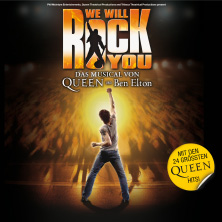 We Will Rock You Karten