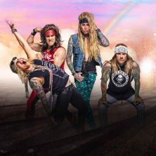 Steel Panther + Support: The Wild! in Wiesbaden, 08.06.2021 -