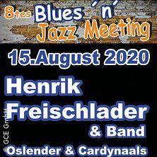 8tes Blues n Jazz Meeting - Henrik Freischlader & Band u.a.