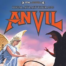 Anvil - Legal At Last Tour 2021