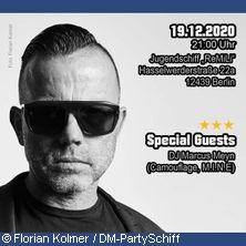 Depeche Mode: Weihnachtsparty Berlin - Depeche-Mode-PartySchiff