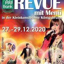 Dinnershow - Revue mit Menü | KleinKunstBühne Königsbrunn