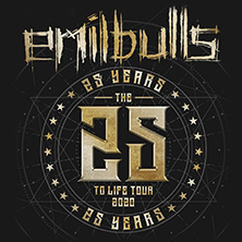 Emil Bulls: 25 To Life Tour 2020