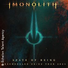 Imonolith - State of Being UK/EU Tour 2021