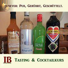 Jenever. Tasting & Cocktailkurs Köln