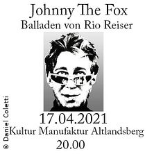 Johnny The Fox - Balladen von Rio Reiser