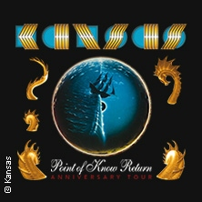 KANSAS - Point Of Know Return - Anniversary Tour 2020 in Frankfurt am Main, 20.10.2020 -