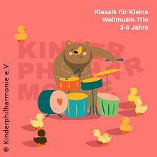 Kleinkinderkonzert - Weltmusik-Trio
