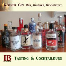 Kölner Gin: Gin-Tasting & -Cocktailkurs