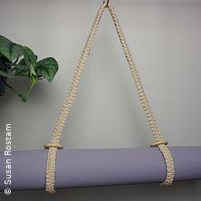 Makramee Workshop | Yogamatten Tragegurt