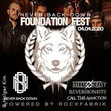 Never Back Down Foundation Fest