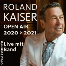 Roland Kaiser - Open Air 2020/2021 in MÖRBISCH AM SEE, 14.07.2021 - Tickets -