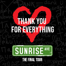Sunrise Avenue - Thank You For Everything - The Final Tour 2021