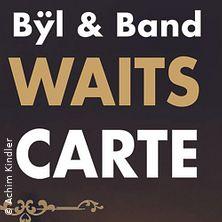 Tom Waits a la carte - Franz de Byl + Band