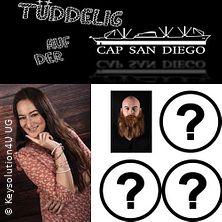 Tüddelig auf der Cap San Diego - Mix-Comedyshow auf der Cap San Diego