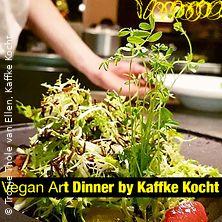 Vegan Art Dinner by Kaffke Kocht