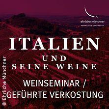 Weinseminar - Italien und seine Weine