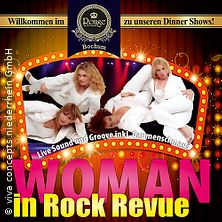 Woman in Rock Revue - Rouge Showpalast Bochum