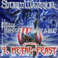 5. Metal-Feast - Steel Shock - Wizard - Zappenduster