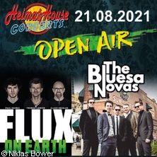 Flux und The Bluesanovas. Hochkaräter!
