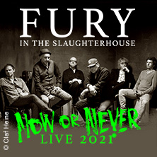 Fury In The Slaughterhouse - Now or Never 2021 + Selig | Strandkorb Open Air