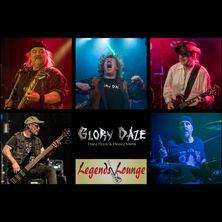 GloryDaze live in der Legends Lounge