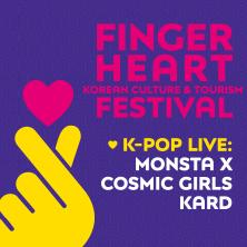 Finger Heart Festival - K-Pop Live: Monsta X, Cosmic Girls & KARD