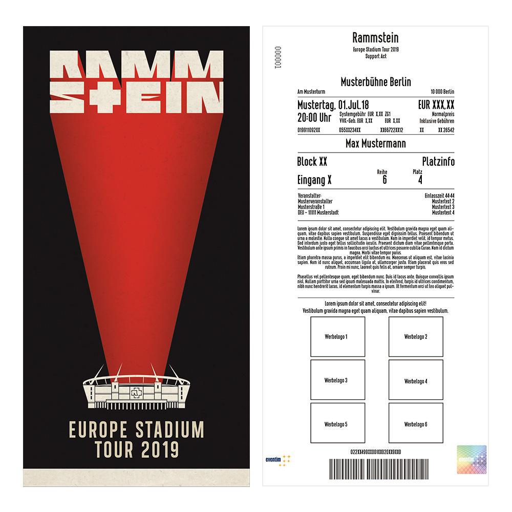 Rammstein: Eventim führt spezielle Tickets zum Vorverkauf ein