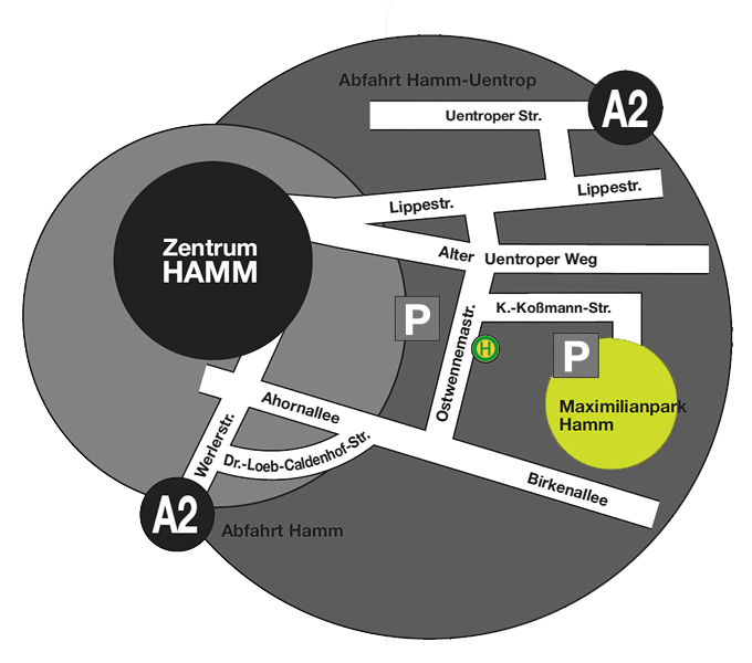 maximilianpark hamm anfahrt. Black Bedroom Furniture Sets. Home Design Ideas