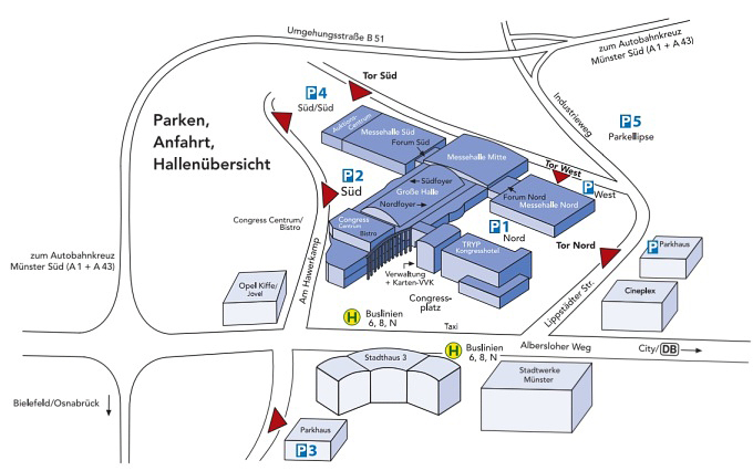 Messe+Congress Centrum Halle Münsterland Münster - Tickets ...