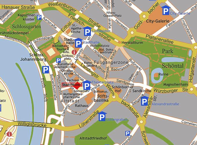 Aschaffenburg Parken