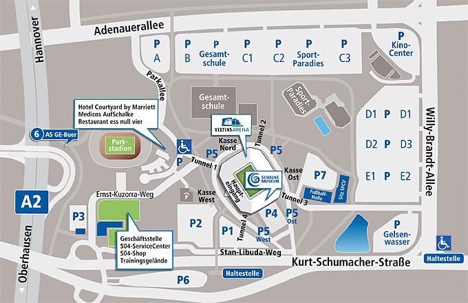 Veltins Arena Parken