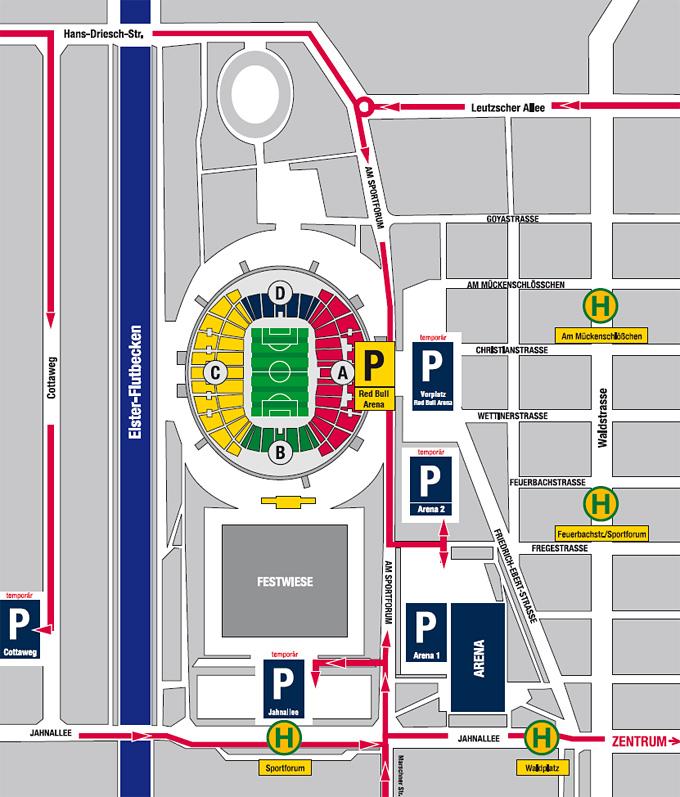 Parkplätze lanxess arena