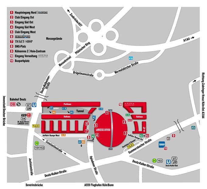 Lanxess Arena Koln Tickets Bei Eventim