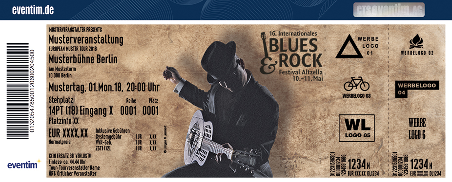Internationales Blues & Rock Festival Altzella Karten für ihre Events 2018