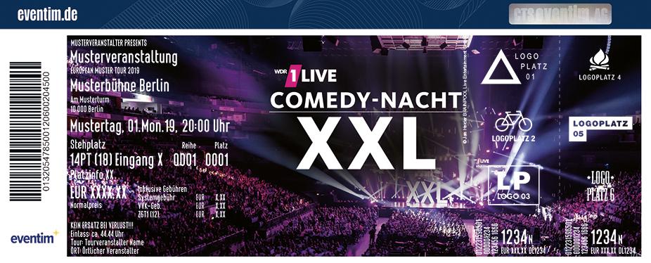 1 Live Comedy Nacht 2021