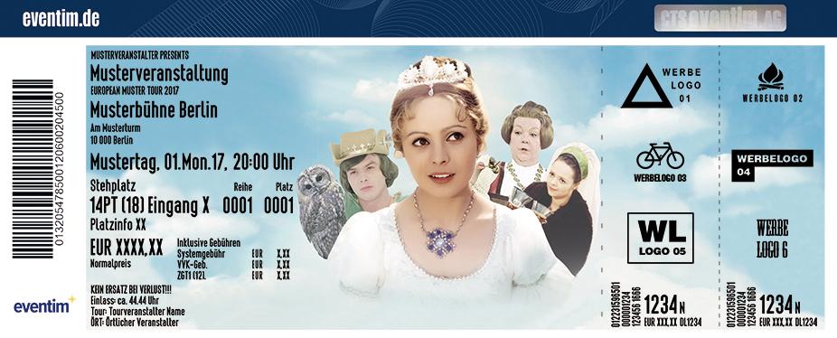 Karten für Drei Haselnüsse für Aschenbrödel - Die Original Familien-Show in Hannover