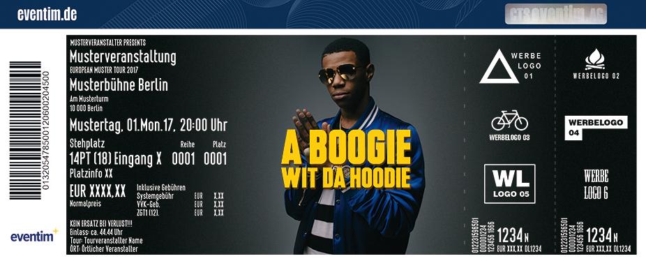 Karten für A Boogie Wit Da Hoodie: The Bigger Artist Tour in Berlin