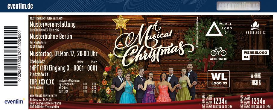 Karten für A Musical Christmas in Rothenburg Ob Der Tauber
