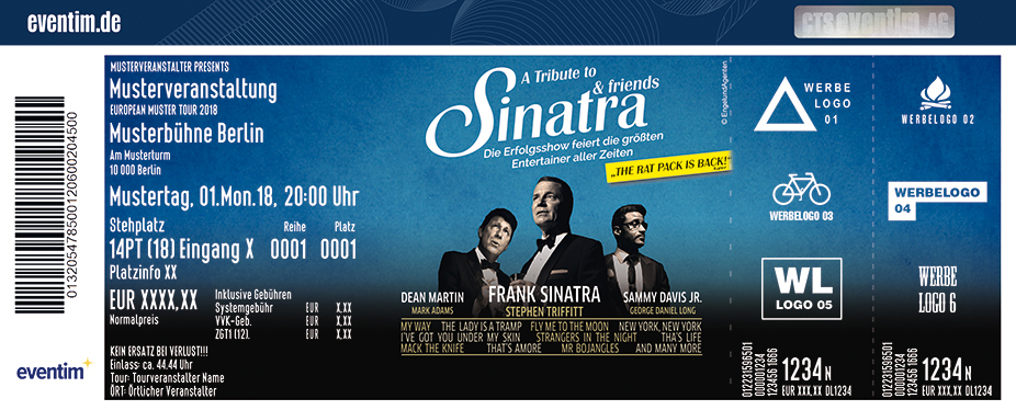 Karten für A Tribute to SINATRA AND FRIENDS in Bremen