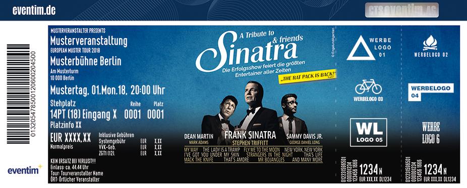 Karten für A Tribute to SINATRA AND FRIENDS in Berlin