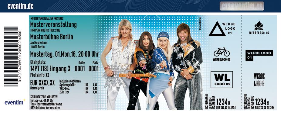 Karten für A4U - Die Abba-Revival Show in Dresden