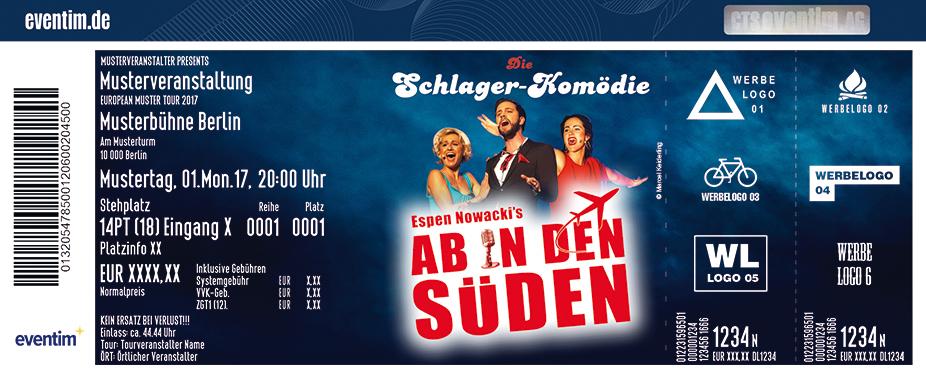 Karten für Ab in den Süden - Die beliebteste Schlager-Show Deutschlands in Weilheim