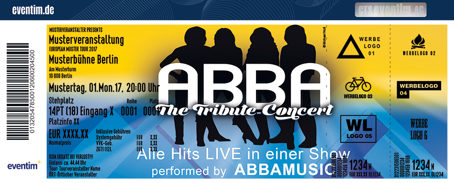 Karten für ABBA - The Tribute Concert in Berlin