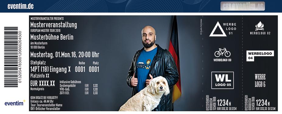Karten für Abdelkarim: Staatsfreund Nr. 1 in Stuttgart